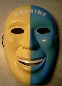 Ukraine Maske, Foto: Fritz Ehrlich