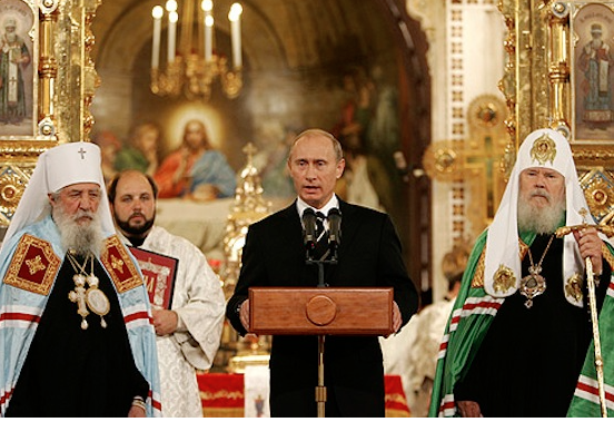 Die Russisch Orthodoxe Kirche – geführt durch einen EX-KGB-Mann und Kumpel von Putin