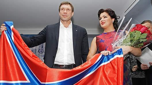 Netrebko unterstützt Terroristen und Verbrecher