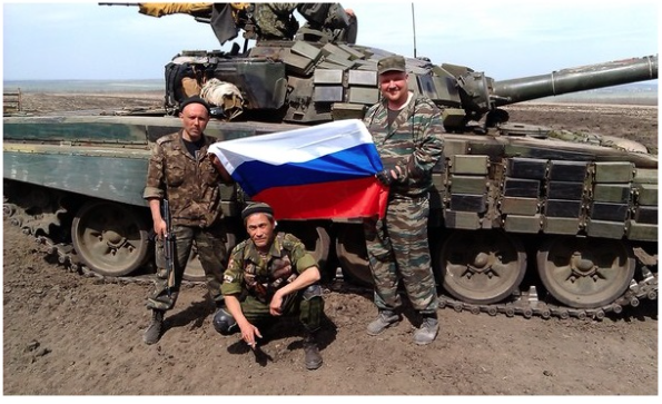 Russian Fighters Building A Base Between Mariupol And Donetsk