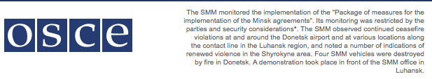 When OSCE stops its silence about complete dead of Minskll?
