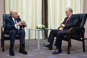 Sepp Blatter und Putin