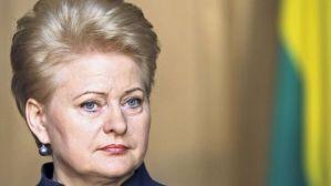 Dalia Grybauskaite irritiert mit ihren klaren Worten jene, die für Zurückhaltung gegenüber Russland plädieren. (Bild- Ints Kalnins : Reuters)