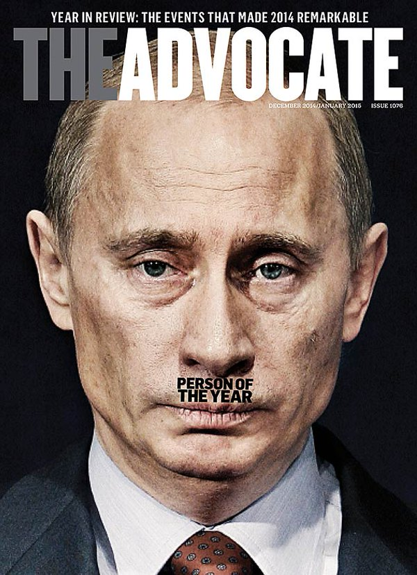 The Advocate 2014: Putin-Person of the Year