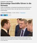 NZZ 02.12.2015: Russischer Justiz-Skandal Schmutzige Geschäfte führen in die Schweiz