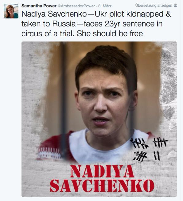 #freeSavchenko