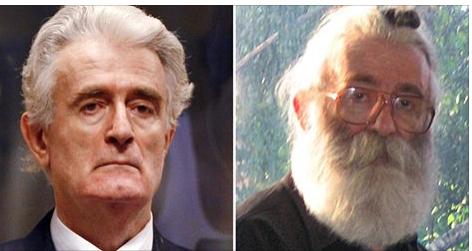 von radikalsten Serben in der Schweiz verehrter Kriegsverbrecher Radovan Karadzic Alias Dr. Babic