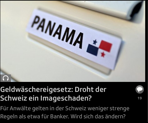 #panamapapers – was fokussiert Radio und TV SRF?