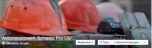 Offene Facebookgruppe Aktionsnetzwerk Schweiz Pro Ukraine