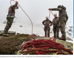 Schweiz bildet Russische Soldaten aus, nach wie vor