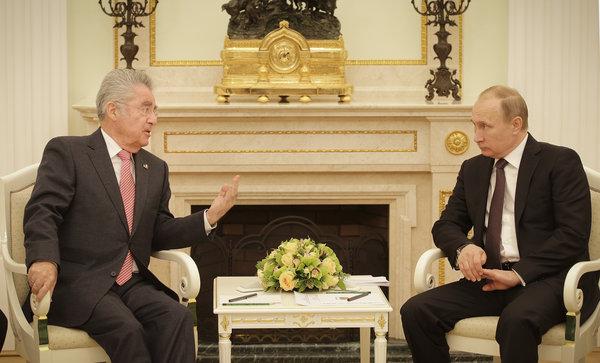 Fischer:Putin, Staatsbesuch im Kreml