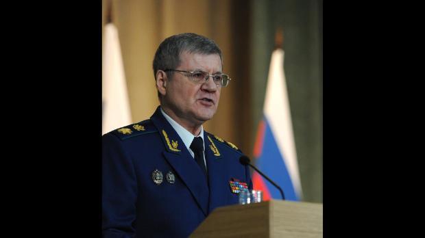 Juri Tschaika selber steht unter Korruptionsverdacht. Er verkörpert viele der Schwächen der russischen Justiz. (Bild- Imago)