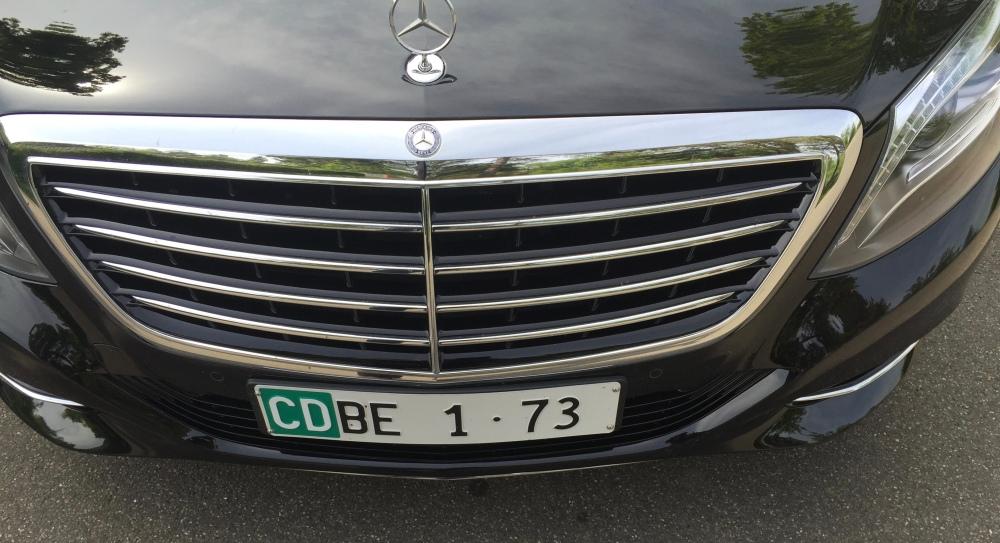 Fahrzeugflotte der Russischen Botschaft in der Schweiz