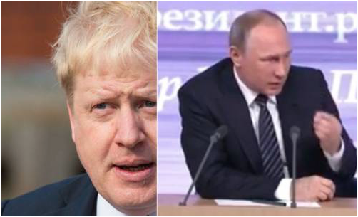 A British Foreign Secretary who excuses Russia's invasion of Crimea?