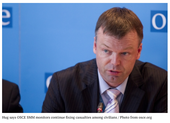 Hug, head of OSCE-SMM