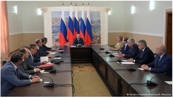 Russischer Sicherheitsrat tagt auf der besetzten Krim