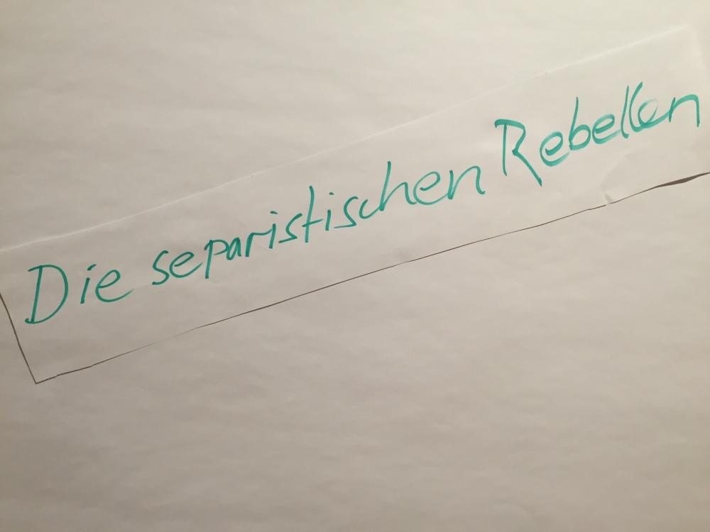 Die Separatistischen Rebellen
