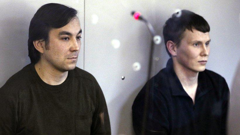 Alexander Alexandrow und Jewgeni Jerofejow