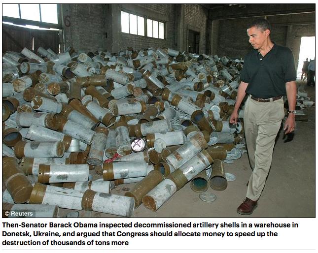 Obama, disarming Ukraine