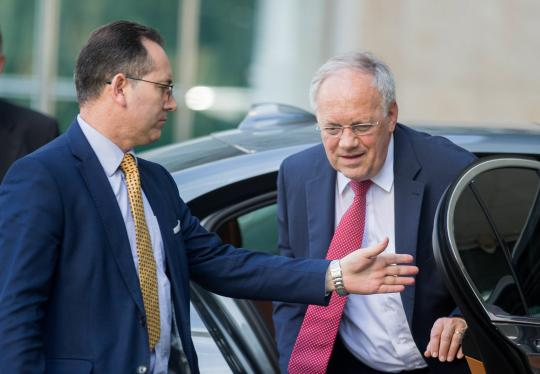 Schweizer Wirtschaftsminister Schneider Ammann in Moskau