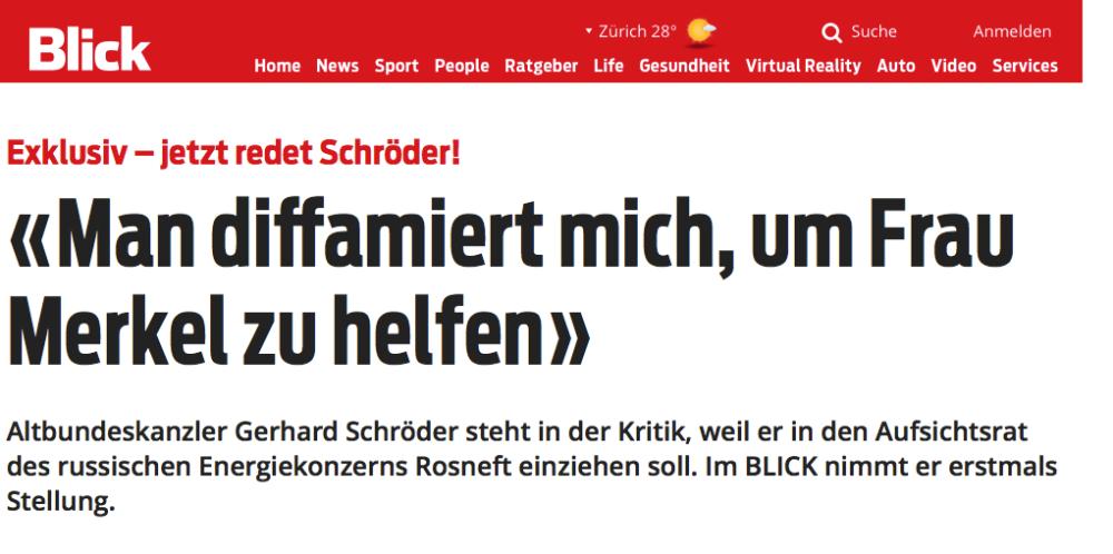 Der Macher: Gerhard Schröder in seiner Anwaltskanzlei in Hannover (D). DANIEL BISKUP/LAIF