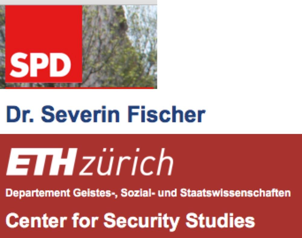 Dr. Severin Fischer