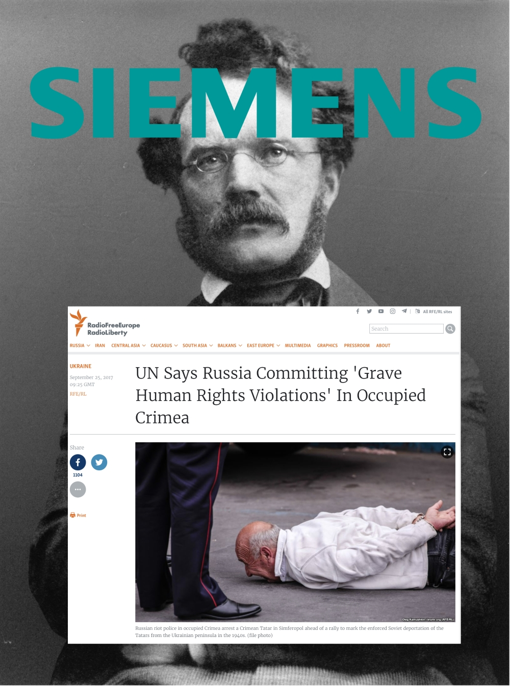 Founder of Siemens – what would he say?