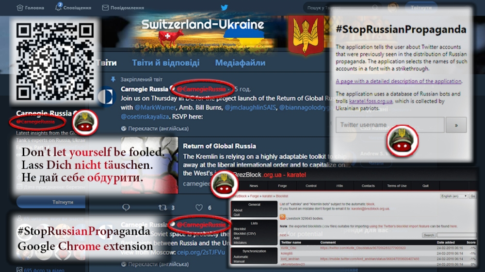 #StopRussianPropaganda Google Chrome extension
