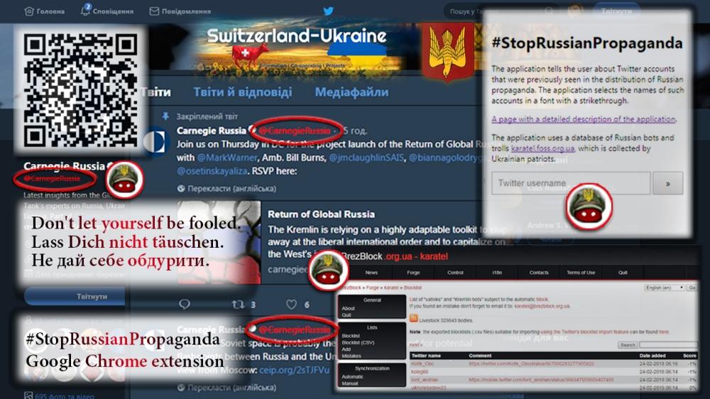 #StopRussianPropaganda Google Chrome extension