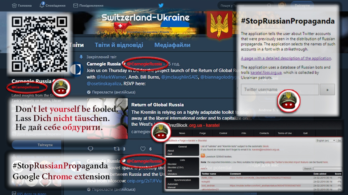 #StopRussianPropaganda Google Chrome extension participate and use the powerful tool against Kremlin propaganda