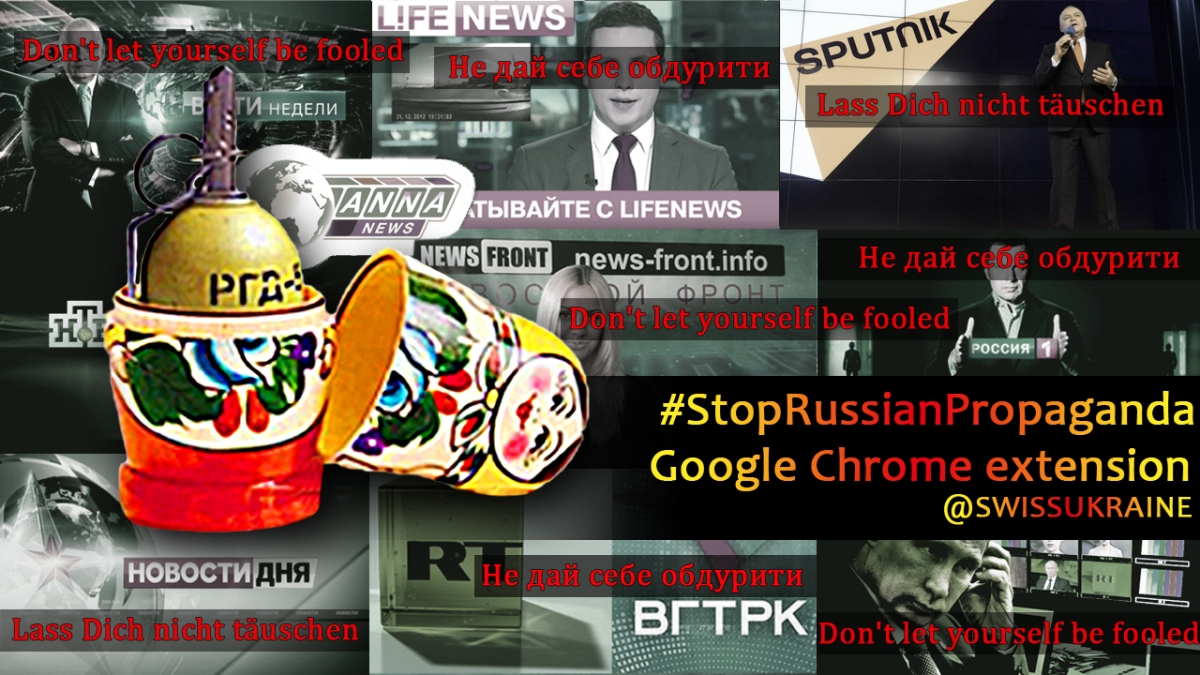 Doing something concrete against Kremlin propaganda?  You are wanted!